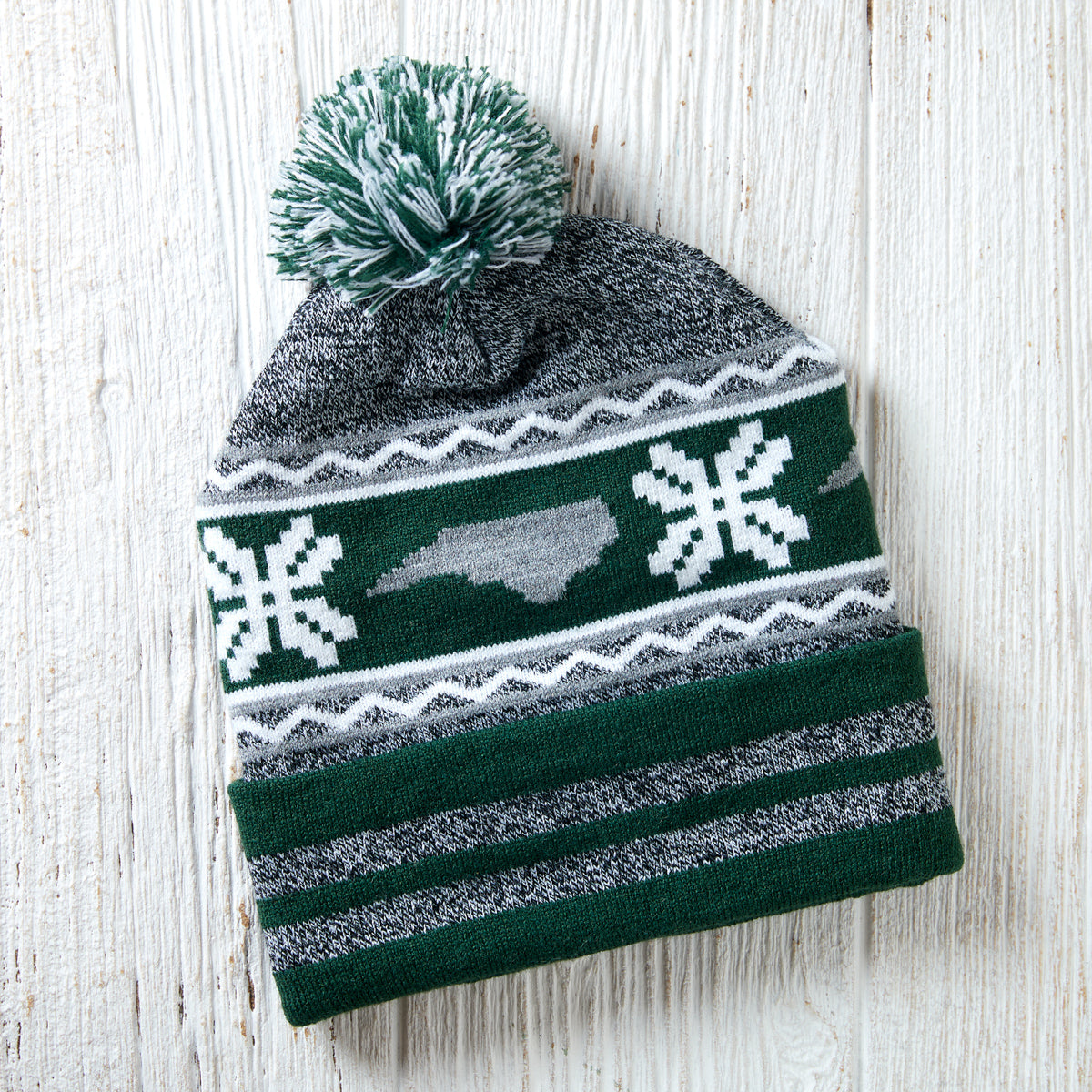 Green North Carolina Winter Hat
