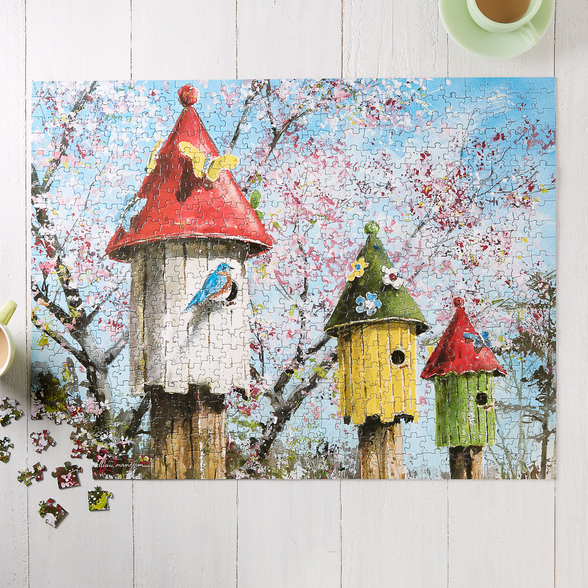 Neighbor Birds Jigsaw Puzzle
