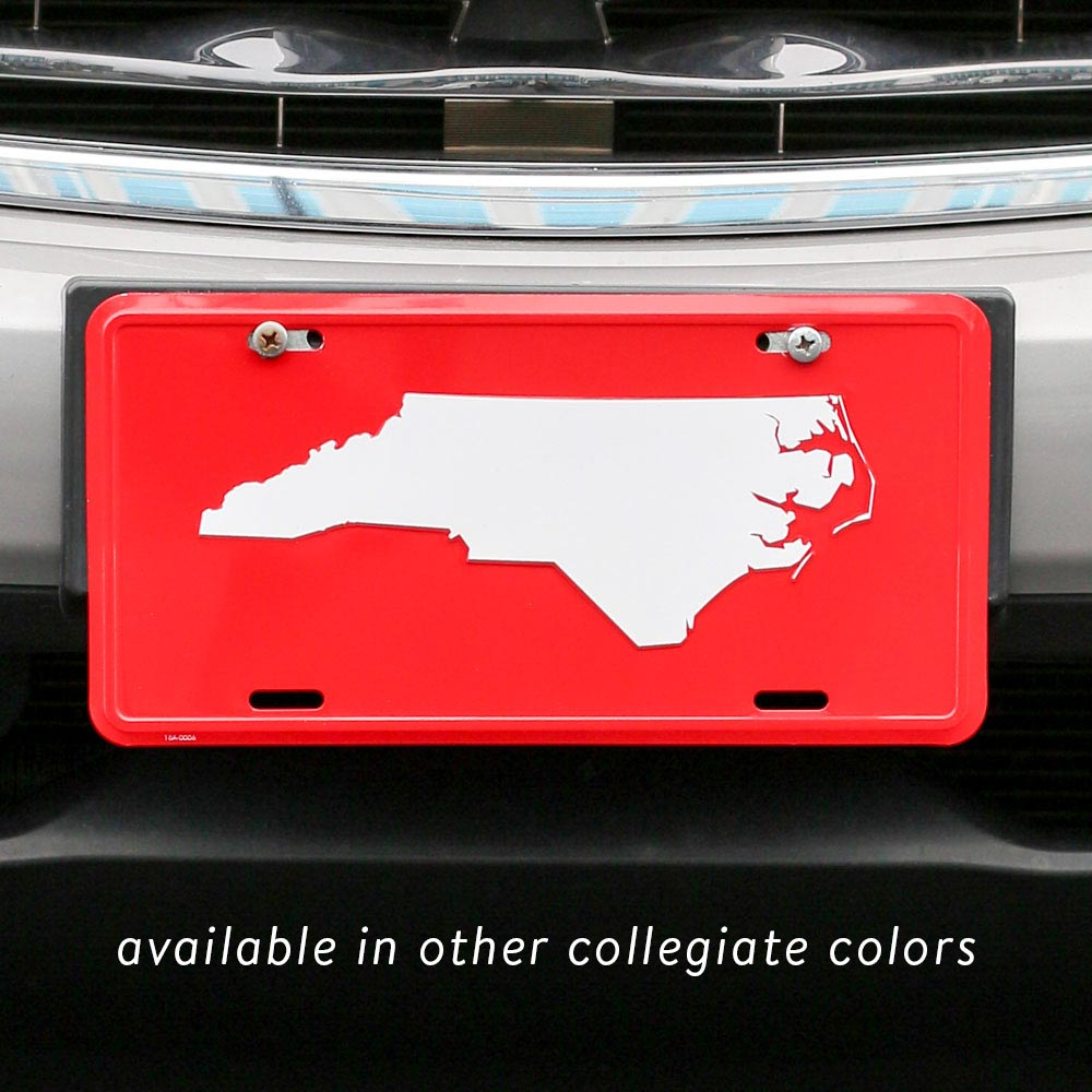 Collegiate License Plate