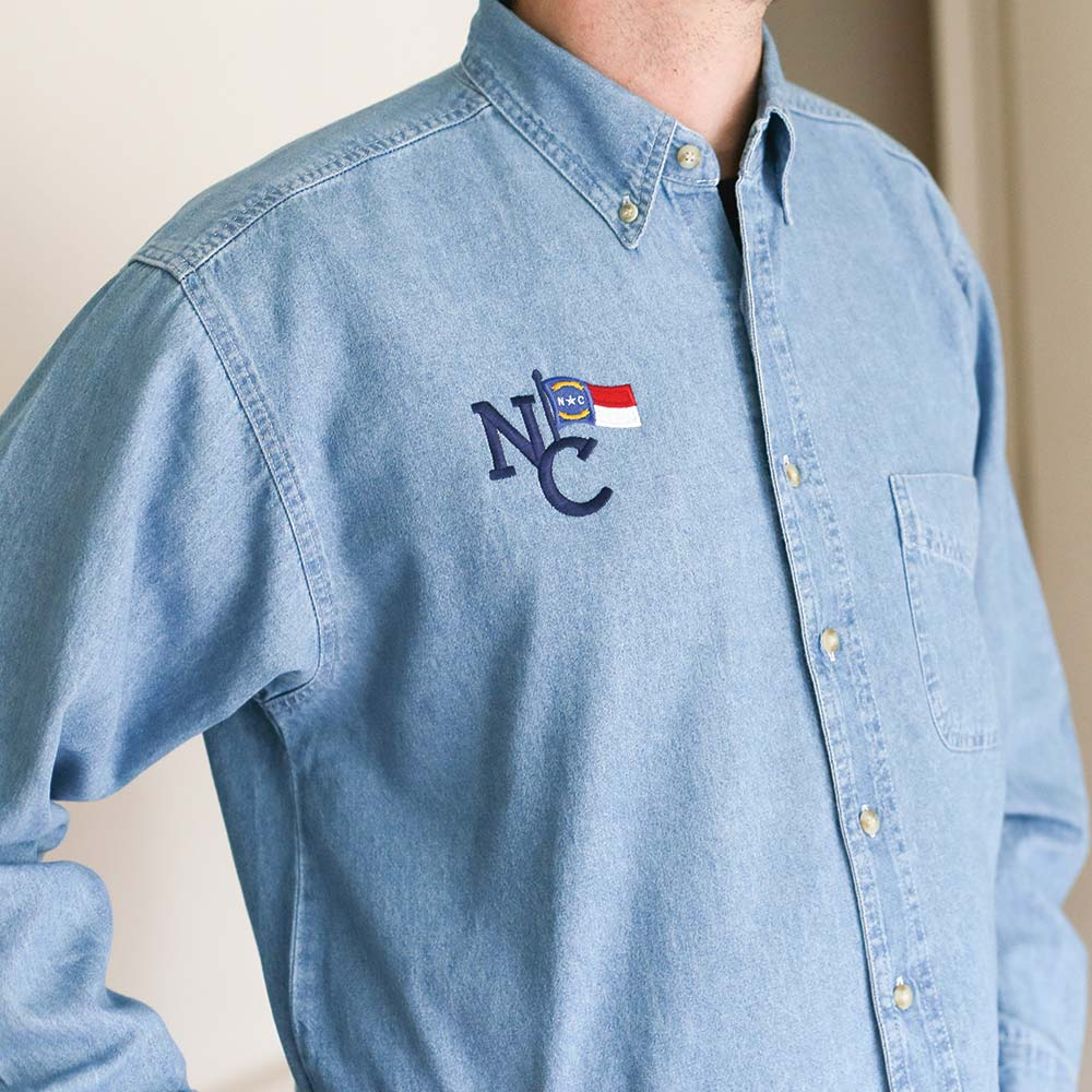 North Carolina Denim Shirt