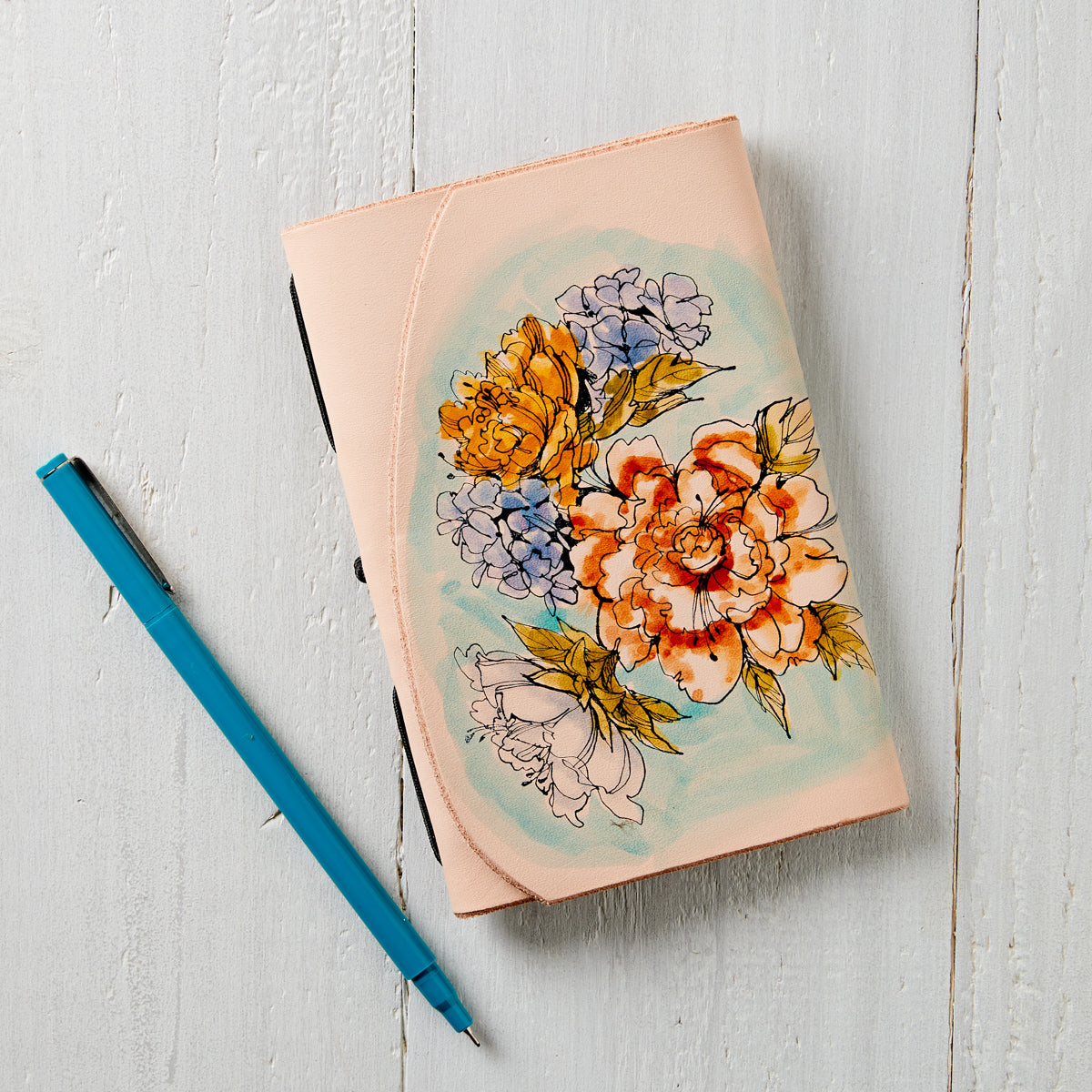 Painted Bouquet Travel Journal