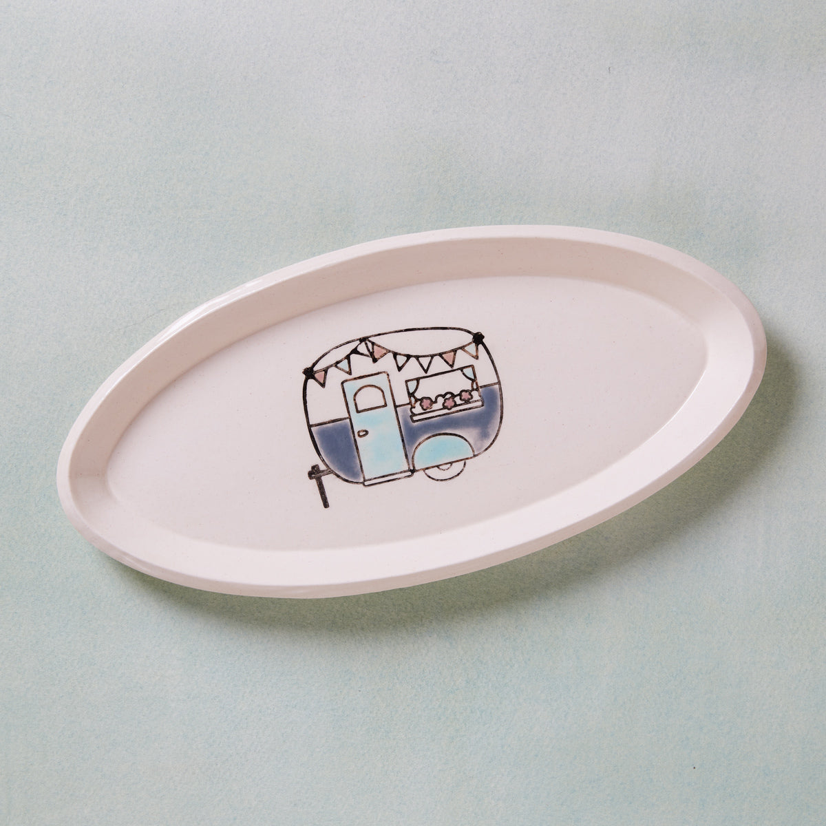 Pottery Camper Dish