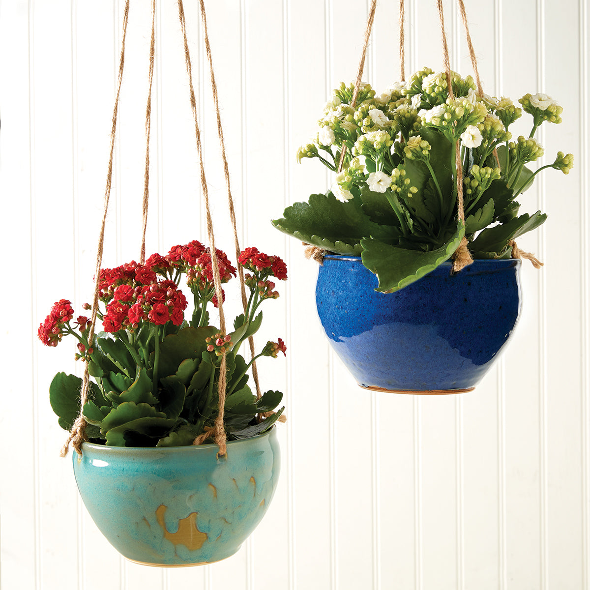 Pottery Hanging Planters