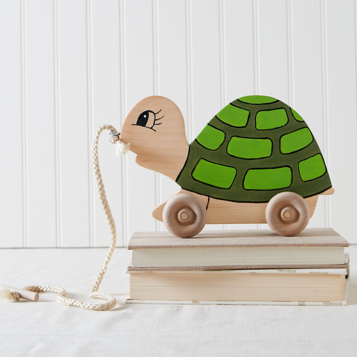 Wooden Turtle Pull Toy