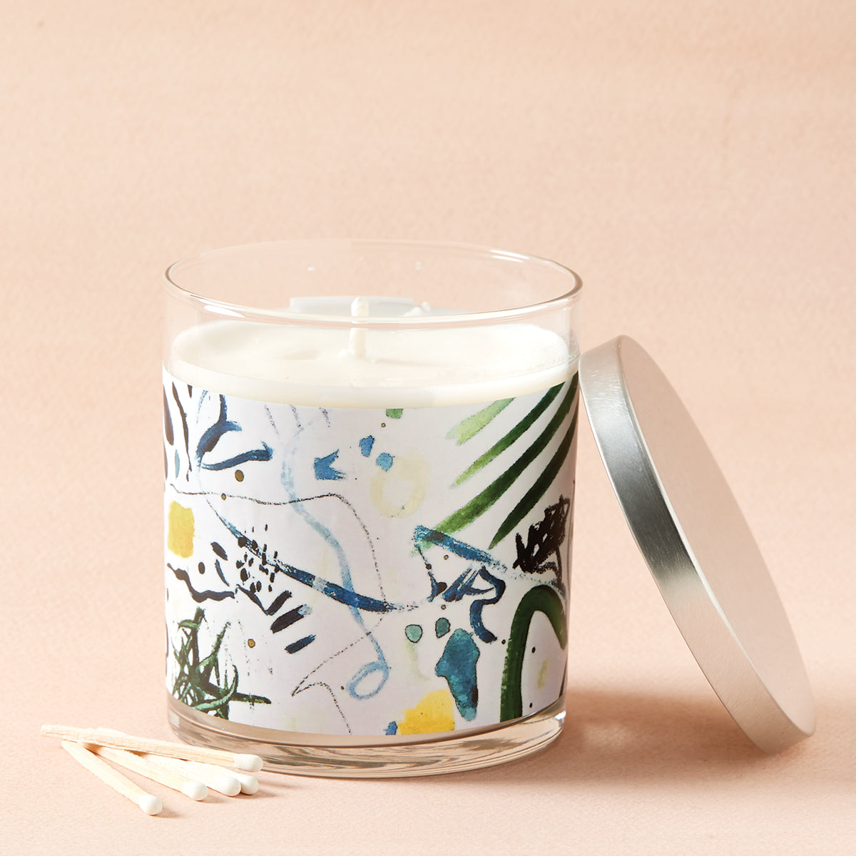 White Tea Artist Candle
