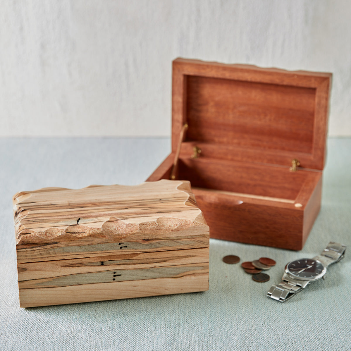 Wooden Valet Boxes