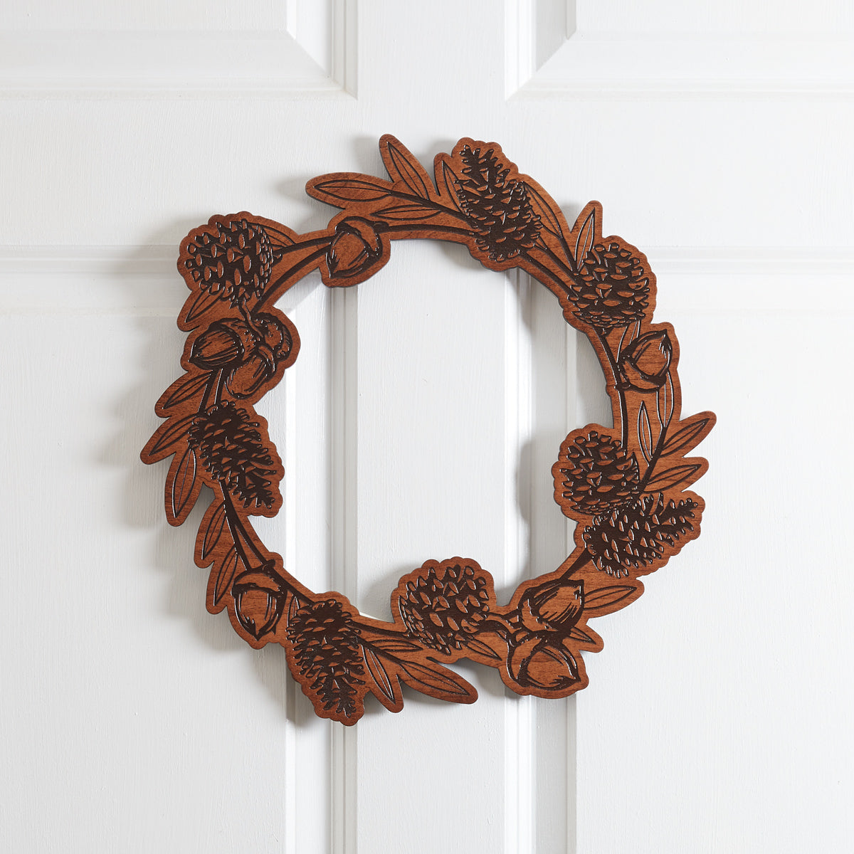 Wooden Fall Wreath