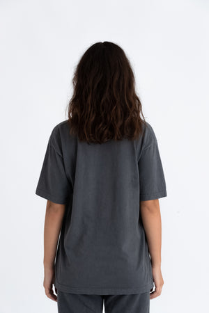 Washed Black Downtown tee