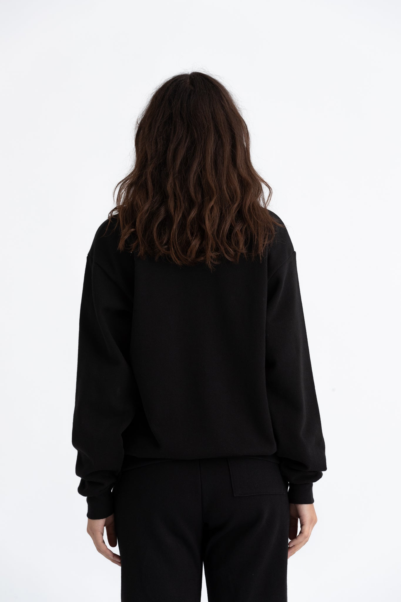 Black Downtown crew jumper