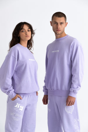 Washed Lilac Palms crew