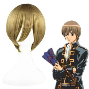 Gin Tama - Okita Sougo-cosplay wig-Animee Cosplay