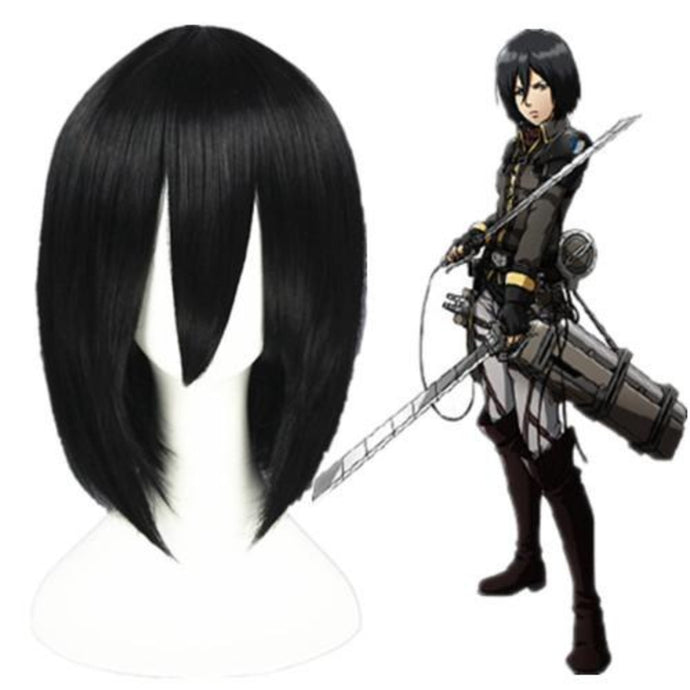 Shingeki No Kyojin - Mikasa Ackerman-cosplay wig-Animee Cosplay