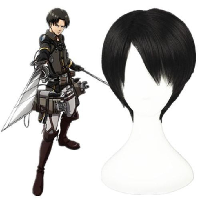 Shingeki No Kyojin - Rivaille-cosplay wig-Animee Cosplay