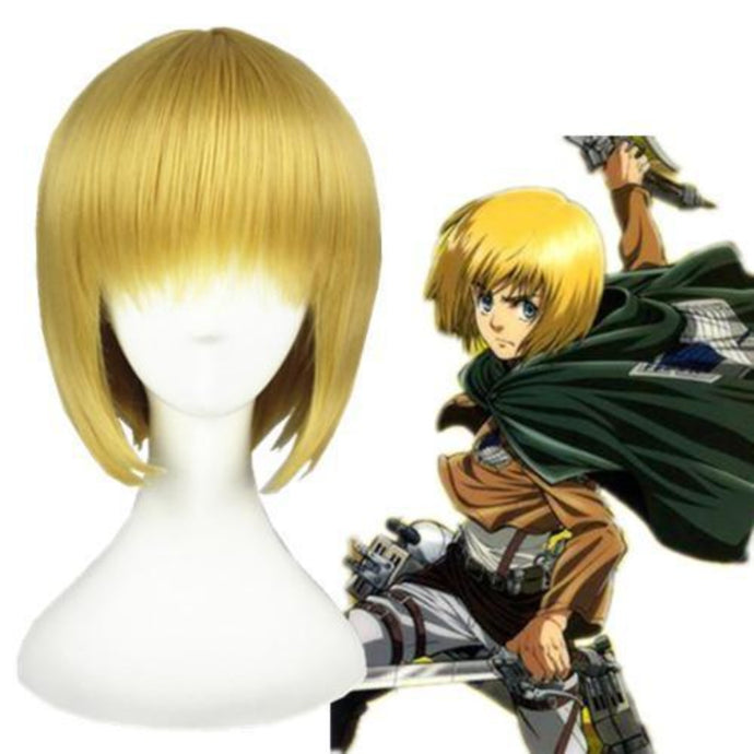 Shingeki No Kyojin - Armin Arlart-cosplay wig-Animee Cosplay
