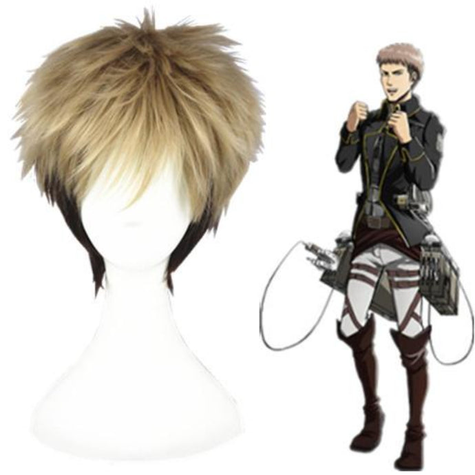 Shingeki No Kyojin - Jean Kirstein-cosplay wig-Animee Cosplay