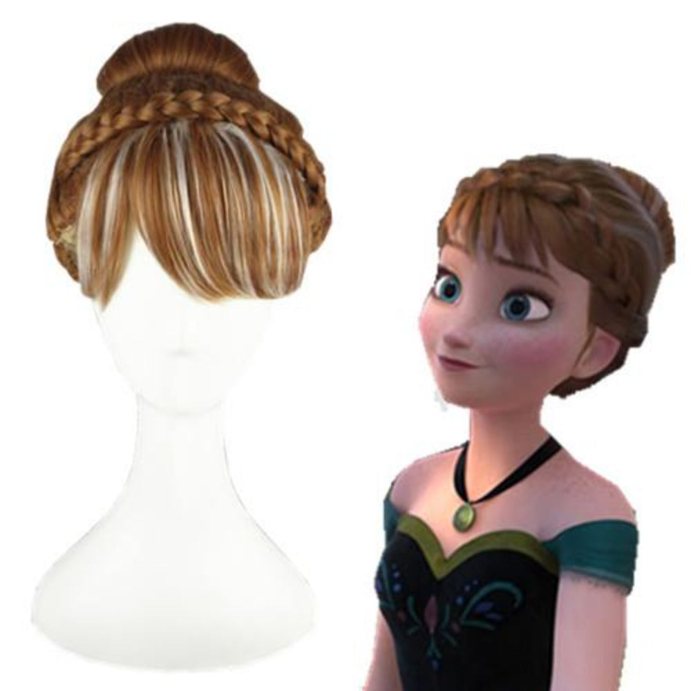 Frozen - Anna-cosplay wig-Animee Cosplay