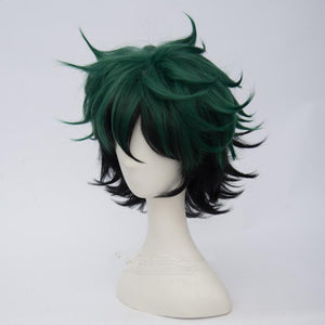My Hero Academia Anime / Deku/ Midoriya Izuku-cosplay wig-Animee Cosplay