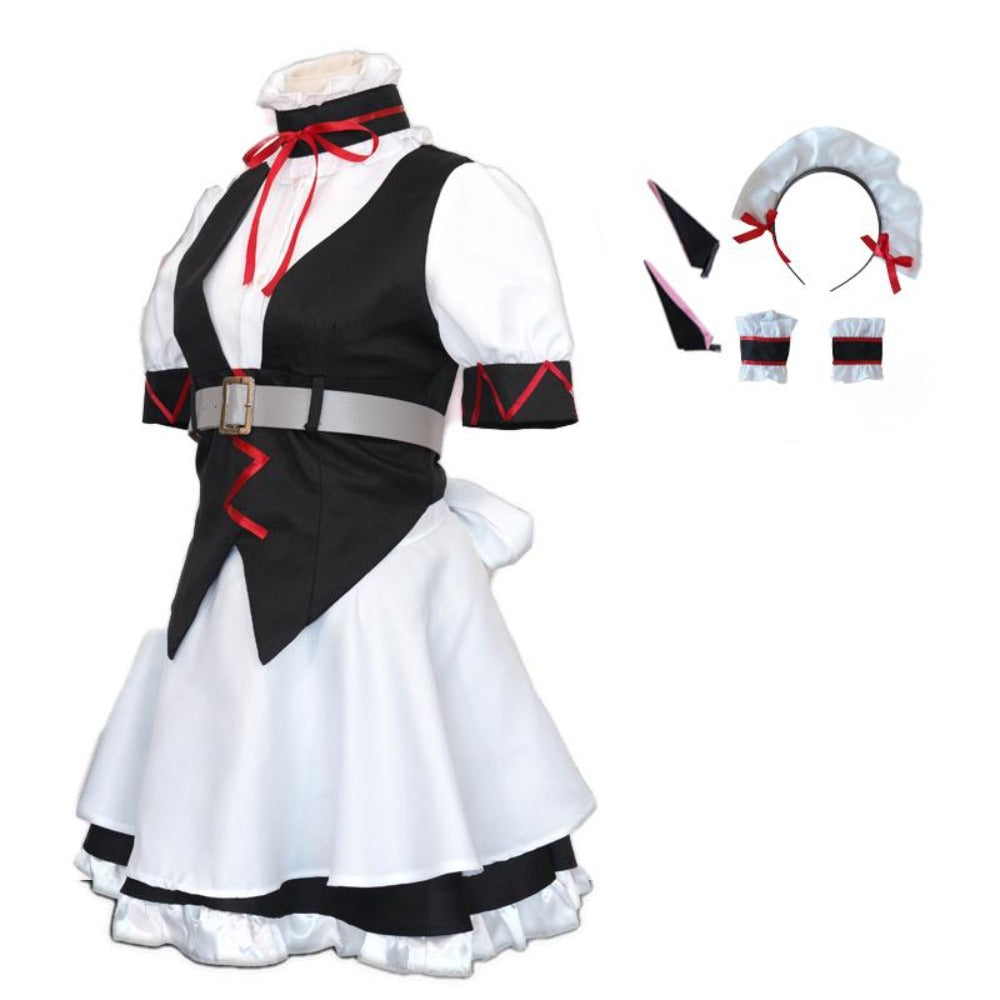 Steins Gate-Phyllis Meow-anime costume-Animee Cosplay