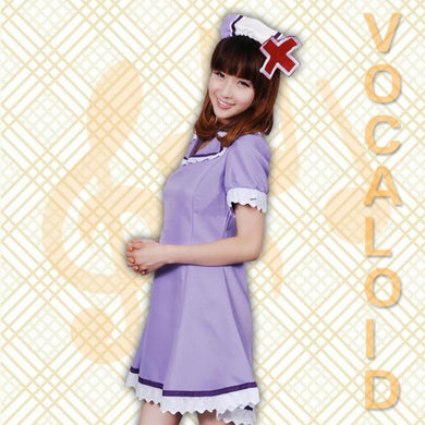 VOCALOID-Luka Nurse Uniform (Purple)