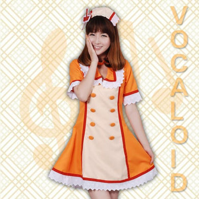 VOCALOID-Kagamine Nurse Uniform (Orange)