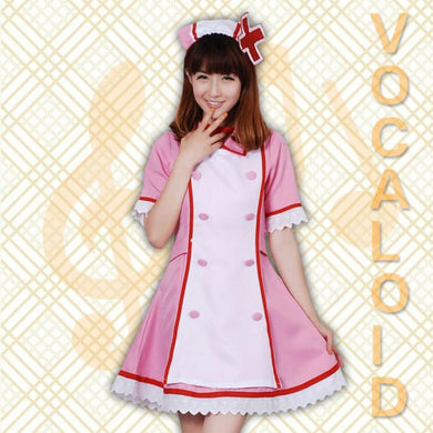 VOCALOID-Kagamine Nurse Uniform (Pink)