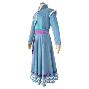 Frozen II Anna Cosplay Dress/Costume