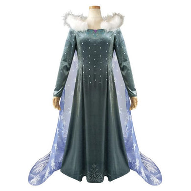 Frozen II Queen Elsa Cosplay Dress/Costume