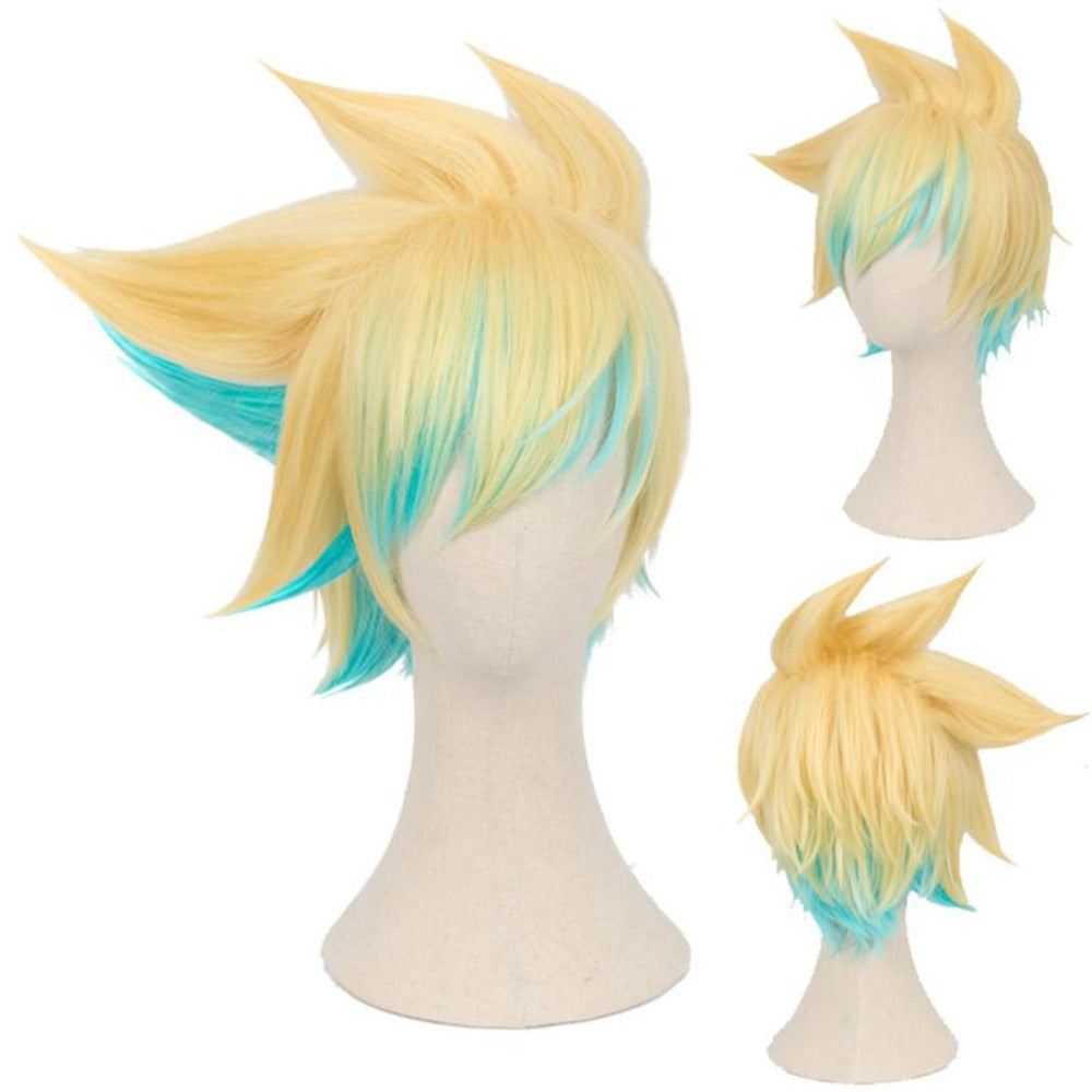 League of Legends-Ezreal-cosplay wig-Animee Cosplay