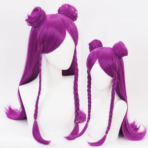 LOL KDA - Kaisa-cosplay wig-Animee Cosplay