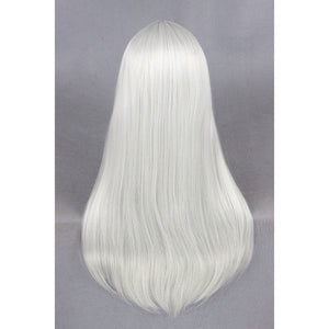 Medium Silvery White Wig-cosplay wig-Animee Cosplay