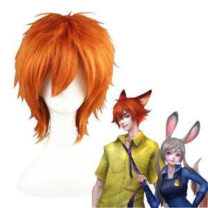 Zootopia - Nick Foxy-cosplay wig-Animee Cosplay
