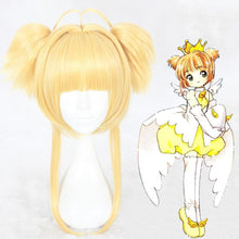 Load image into Gallery viewer, Card Captor Sakura-Kinomoto Sakura-cosplay wig-Animee Cosplay
