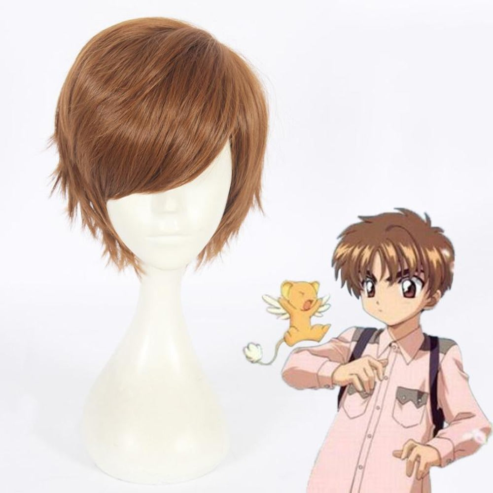 Card Captor Sakura/Li Syaoran-cosplay wig-Animee Cosplay