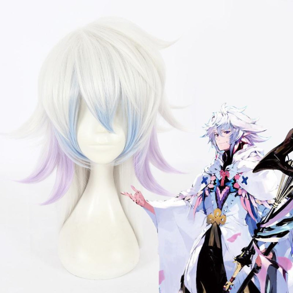 Fate/Grand Order-Merlin-cosplay wig-Animee Cosplay