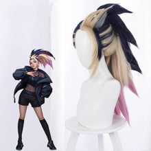 Load image into Gallery viewer, League of Legends [LOL] : K/DA - Akali (Gold mixed)-cosplay wig-Animee Cosplay