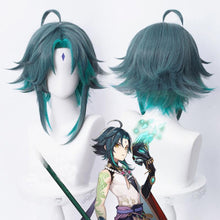Load image into Gallery viewer, Genshin Impact-Xiao-cosplay wig-Animee Cosplay