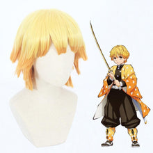 Load image into Gallery viewer, Demon Slayer-Agatsuma Zenitsu-cosplay wig-Animee Cosplay