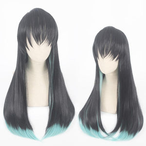 Demon Slayer-Tokitou Muichirou-cosplay wig-Animee Cosplay
