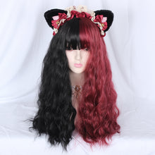 Load image into Gallery viewer, Lolita Wig Double Color Long Curly