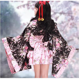 Cosplay Lolita Kimono Dress/Costume-costume-Animee Cosplay