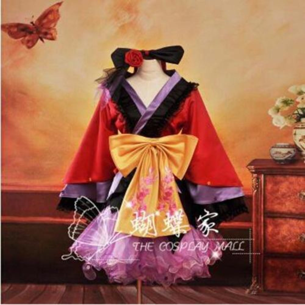 PROJECT DIVA2 Kimono Cosplay Dress/Costume-costume-Animee Cosplay