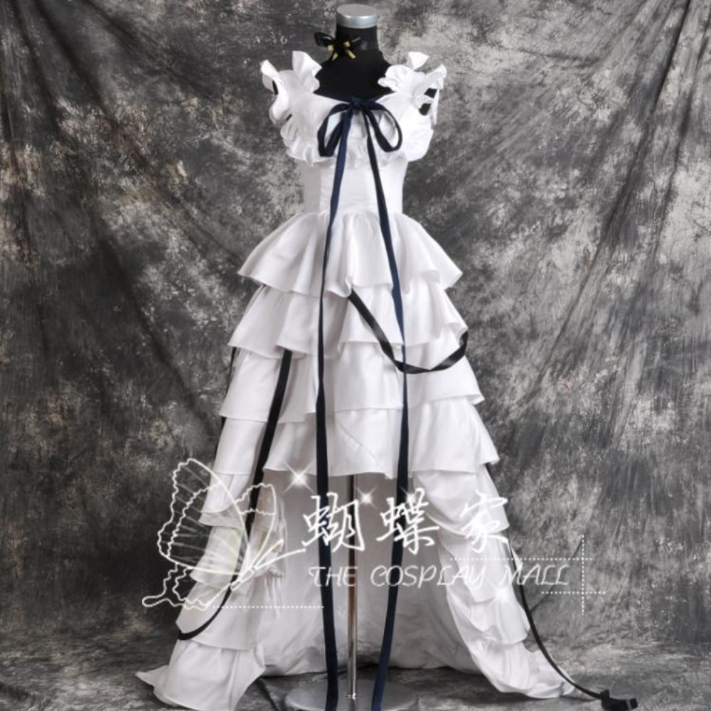 Chobits Eruda White Cosplay Dress/Costume-anime costume-Animee Cosplay