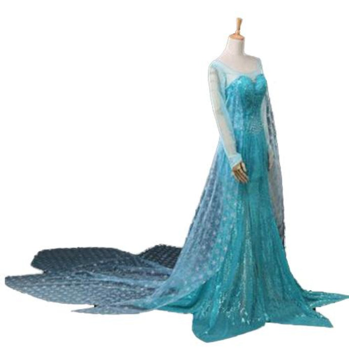 Frozen Elsa Cosplay Dress/Costume