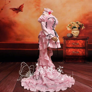 Chobits Eruda Pink Cosplay Dress/Costume-anime costume-Animee Cosplay