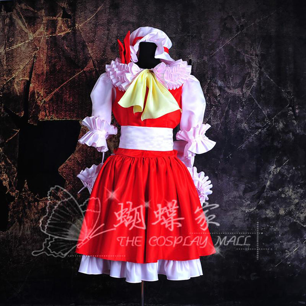 Touhou Project Flandre Scarlet Cosplay Dress/Costume-costume-Animee Cosplay