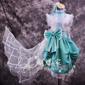 Macross Frontier Sheryl Nome Cosplay Dress/Costume-costume-Animee Cosplay