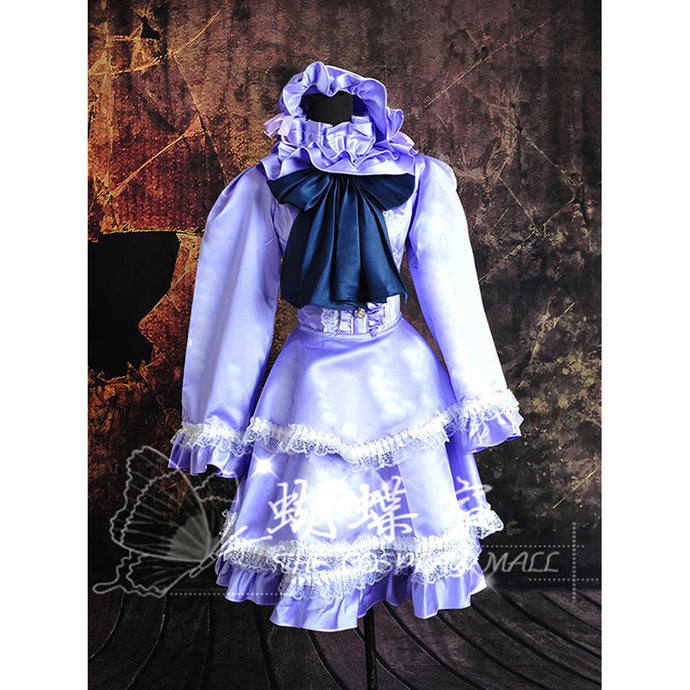 Scarlet Weather Rhapsody Patchouli Knowledge Cosplay Dress/Costume-costume-Animee Cosplay