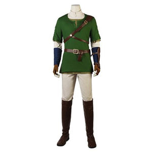The Legend of Zelda Twilight Princess Link (With Boots)-movie/tv/game costume-Animee Cosplay