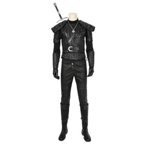 The Witcher Geralt of Rivia Geralt (With Boots)-movie/tv/game costume-Animee Cosplay