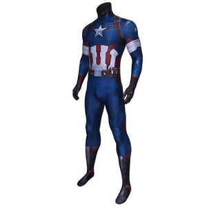 Avengers: Age Of Ultron Captain America Steve Rogers-movie/tv/game jumpsuit-Animee Cosplay